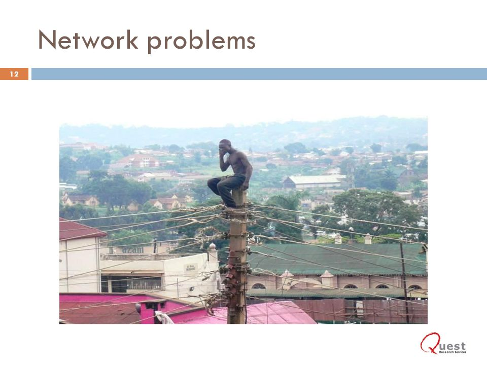 Network problems 12