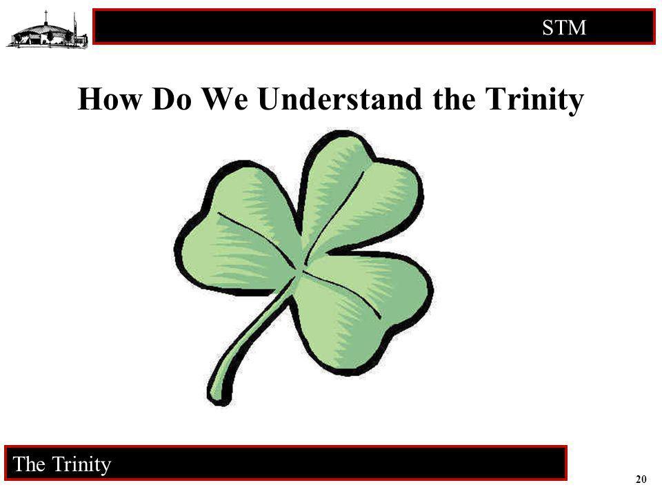 20 STM RCIA The Trinity How Do We Understand the Trinity