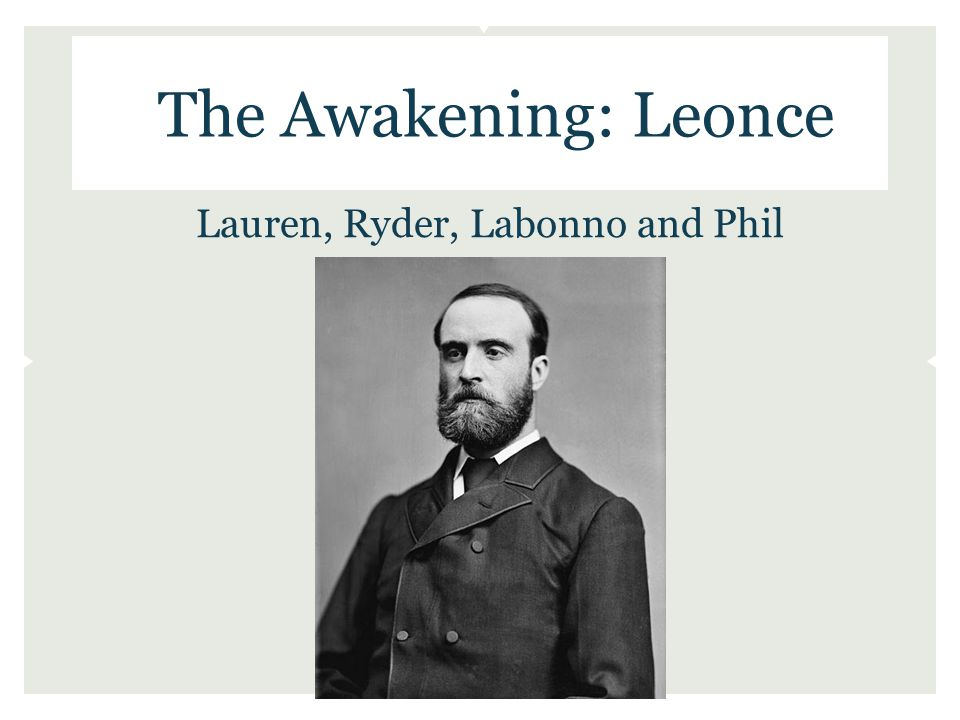 The Awakening: Leonce Lauren, Ryder, Labonno and Phil