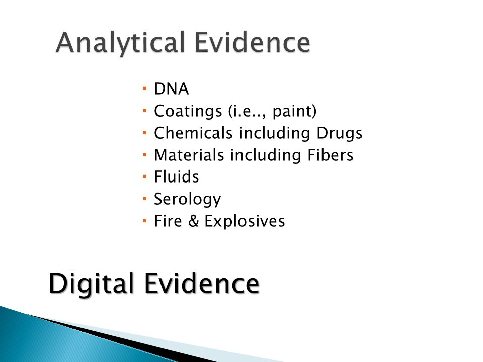Collection/Flow from crime scene to courtroom Manner in which forensic practitioners testify Misinterpretation Adversarial system in criminal/civil litigation Lawyers Use/Misuse Judges Handling