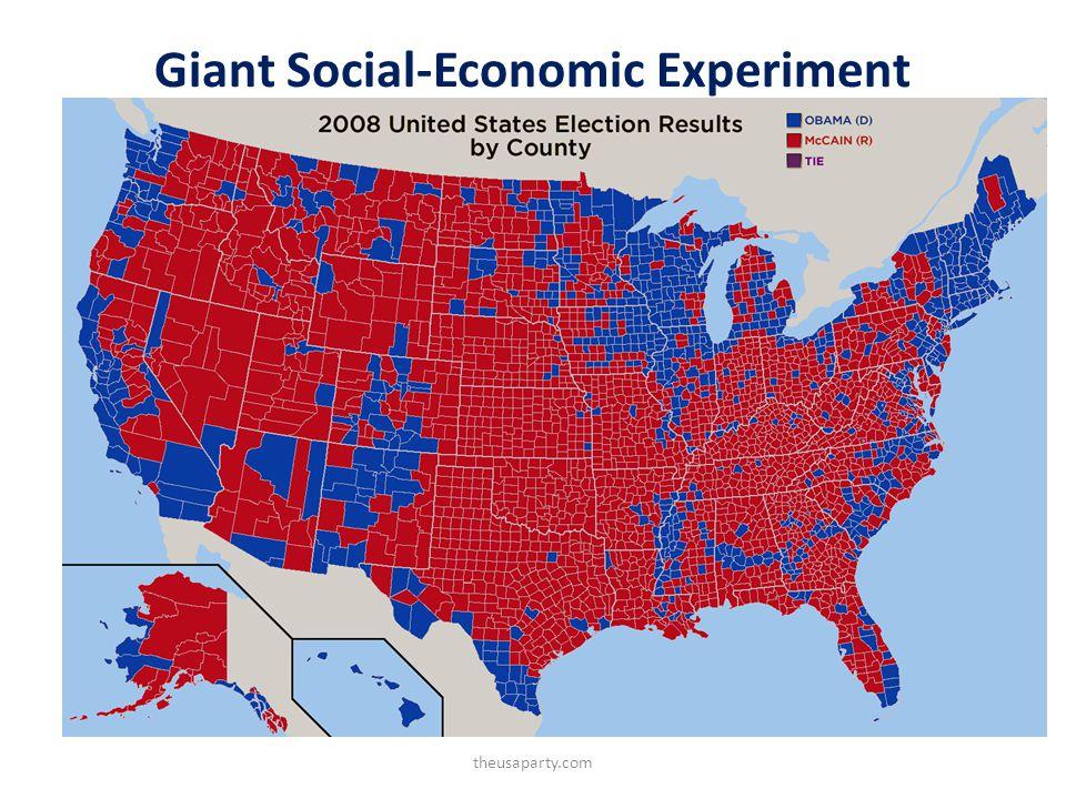 Giant Social-Economic Experiment theusaparty.com