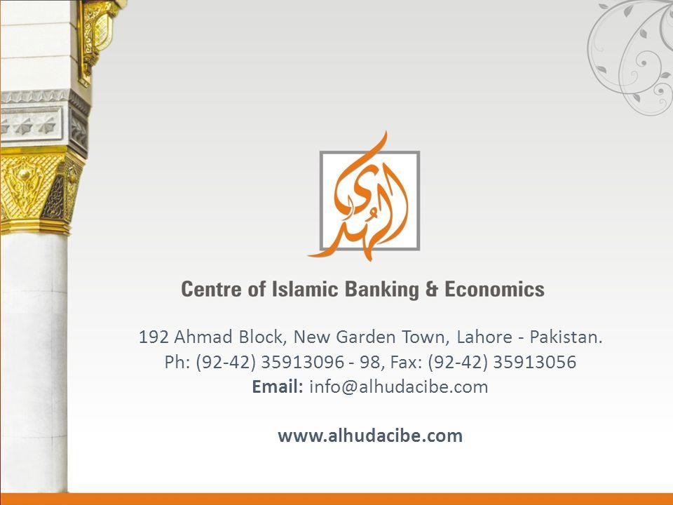 192 Ahmad Block, New Garden Town, Lahore - Pakistan.