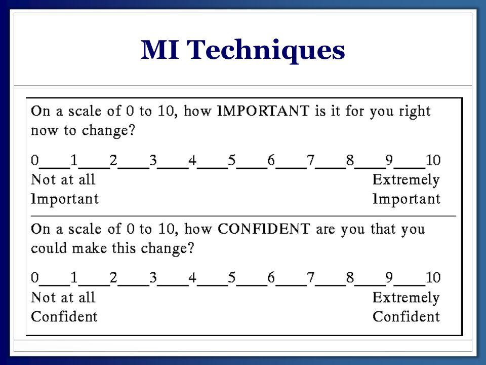 MI Techniques