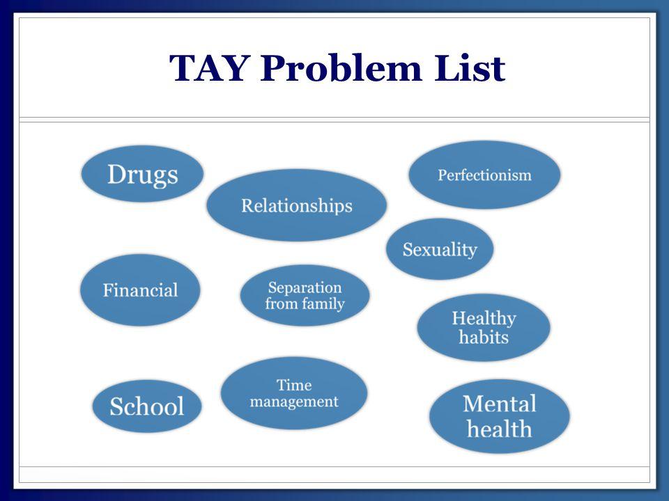 TAY Problem List
