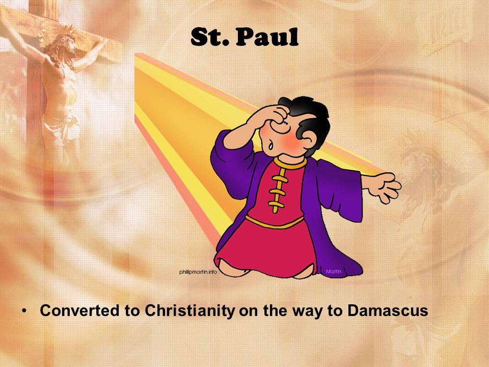 St. Paul Converted to Christianity on the way to Damascus