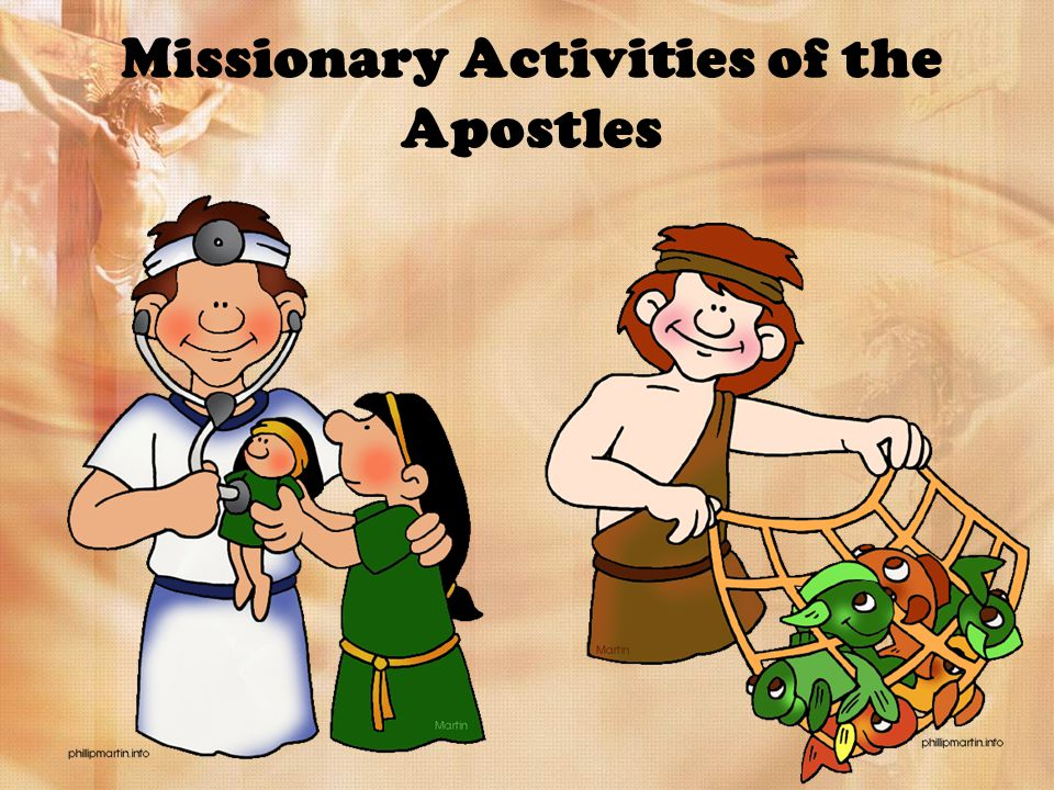 Missionary Activities of the Apostles