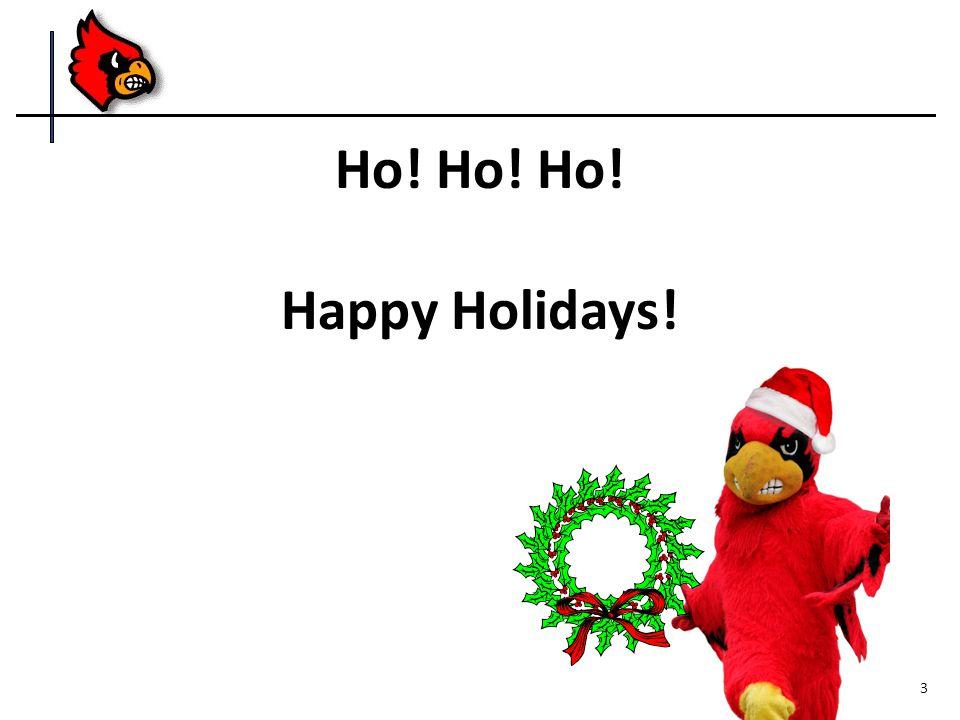 Ho! Ho! Ho! Happy Holidays! 3