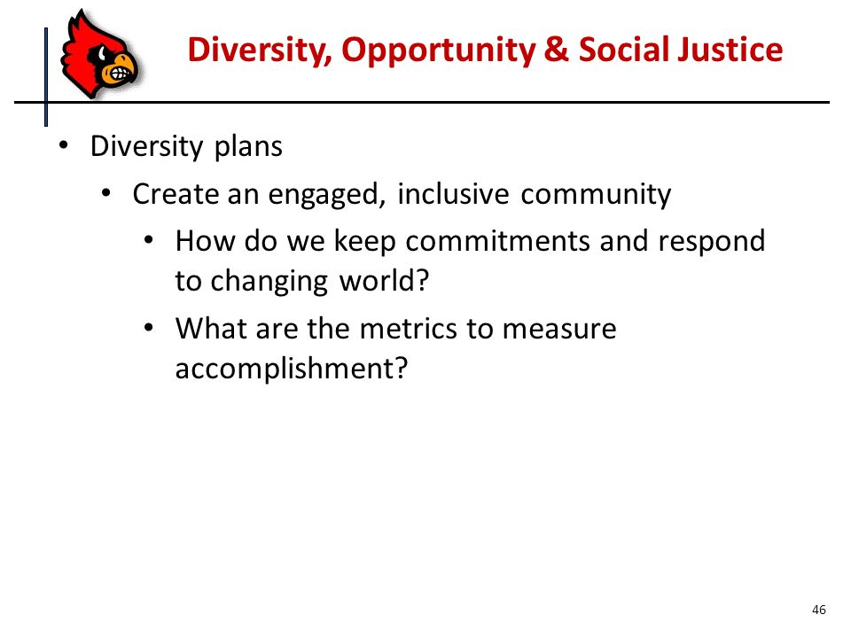 Diversity plans Create an engaged, inclusive community How do we keep commitments and respond to changing world.