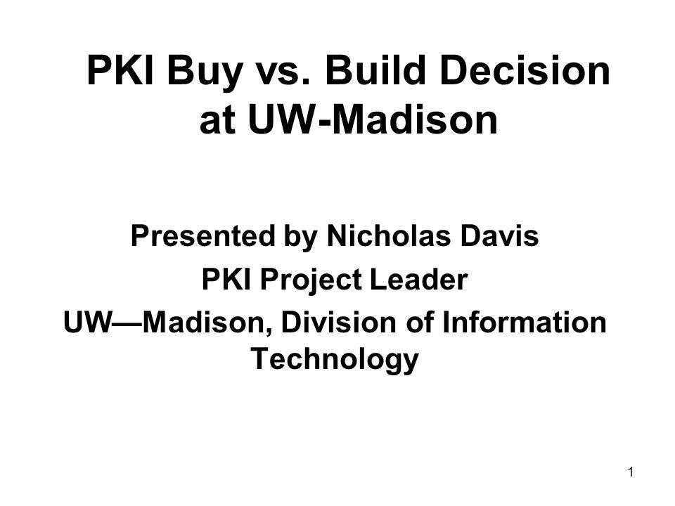 1 PKI Buy vs.