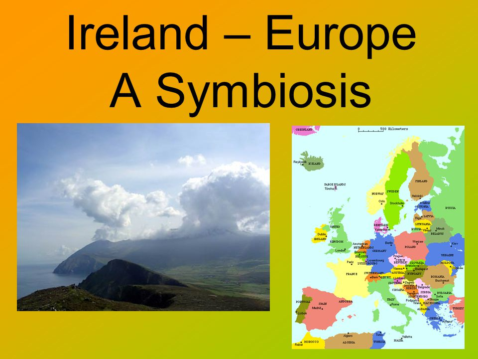 Ireland – Europe A Symbiosis