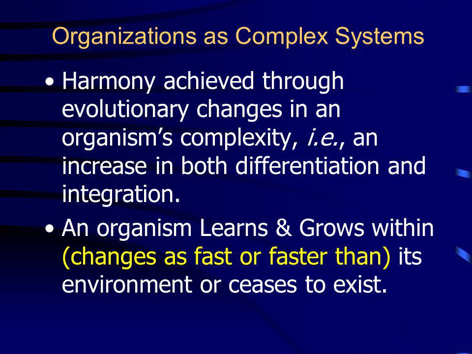 Organizational Path A Systems Congruency Approach to Organizational Change