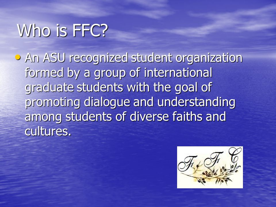 Who is FFC.