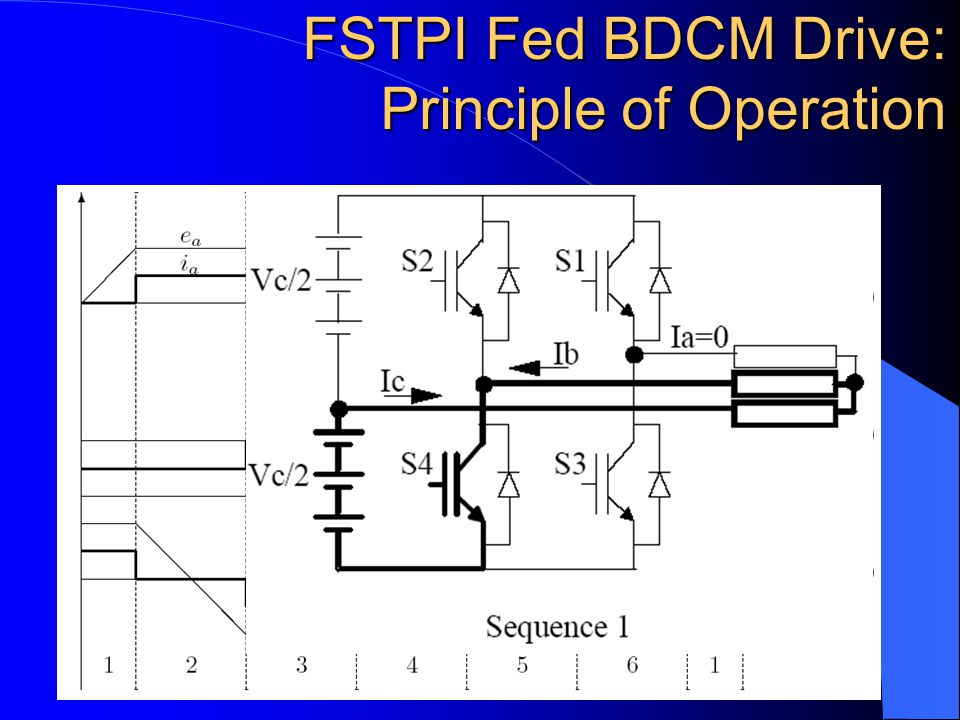 FSTPI Fed Brushless DC Motor Drives