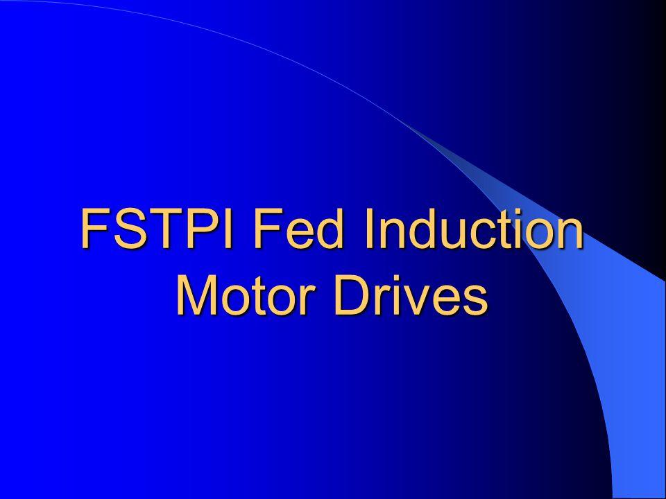 FSTPI Fed BDCM Drive: Fuzzy Speed Control