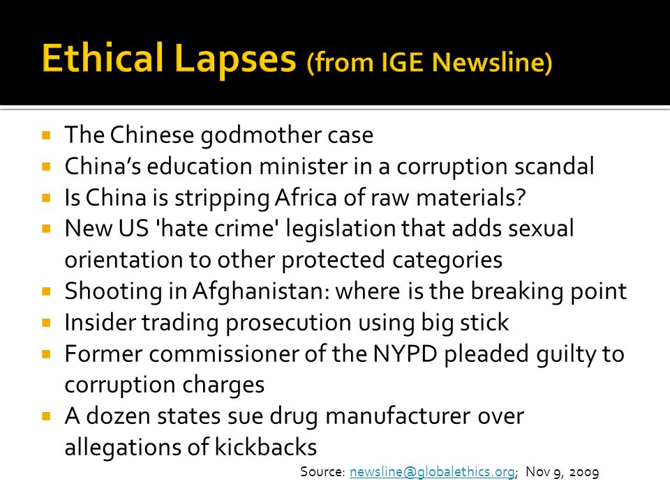 The Chinese godmother case Chinas education minister in a corruption scandal Is China is stripping Africa of raw materials? New US 'hate crime' legisl