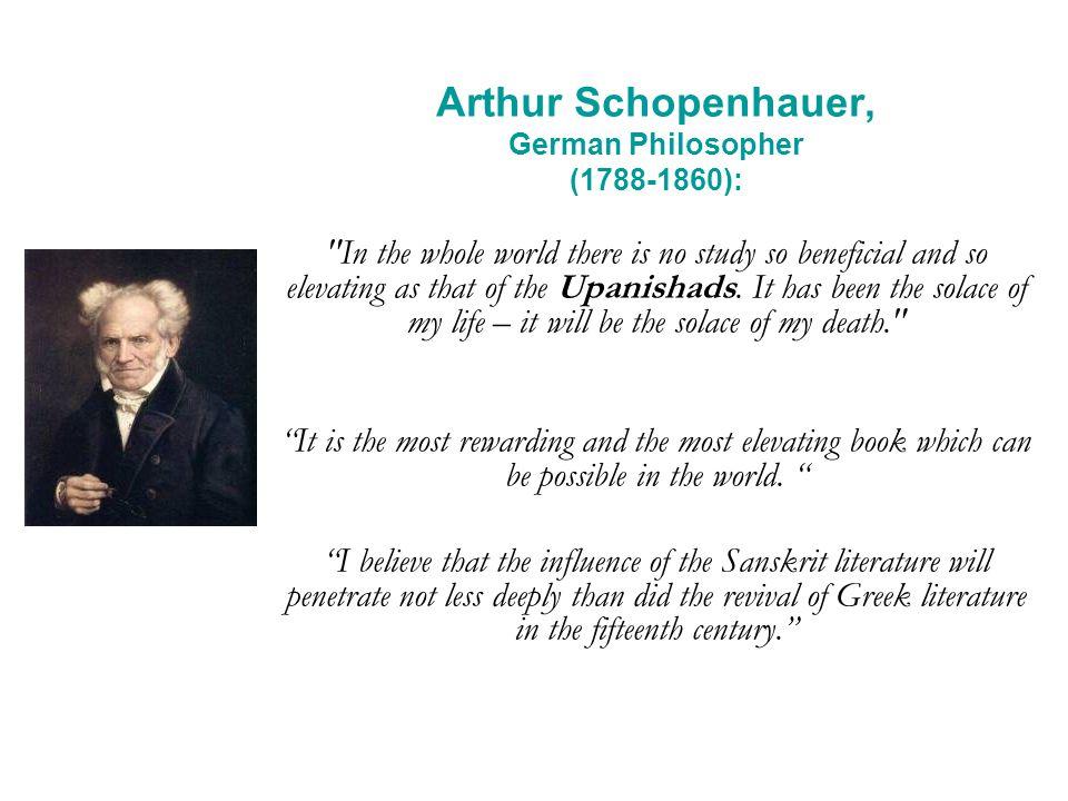 Arthur Schopenhauer, German Philosopher (1788-1860):
