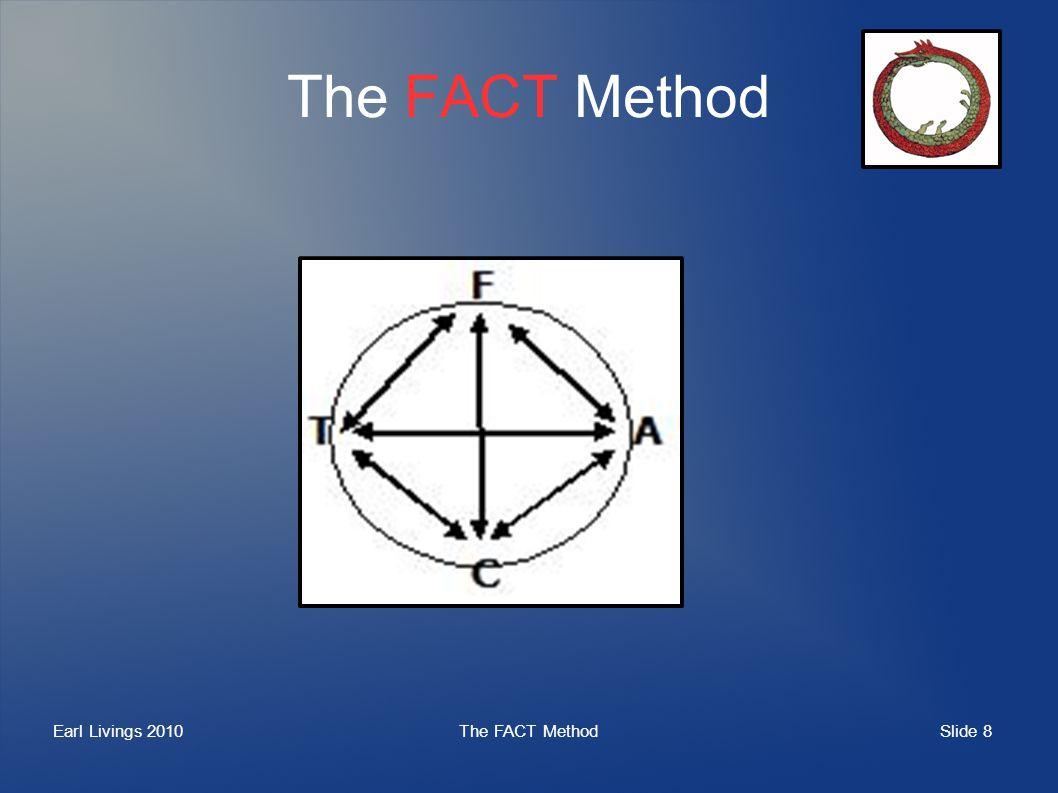 Slide 8 Earl Livings 2010The FACT Method