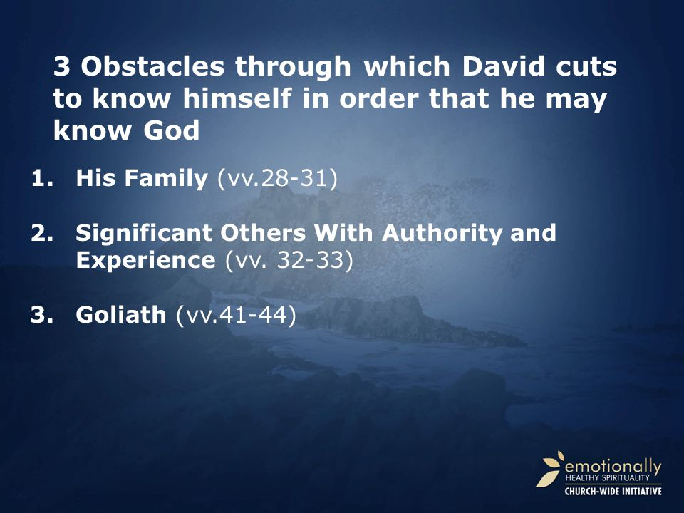 1.His Family (vv.28-31) 2.Significant Others With Authority and Experience (vv.