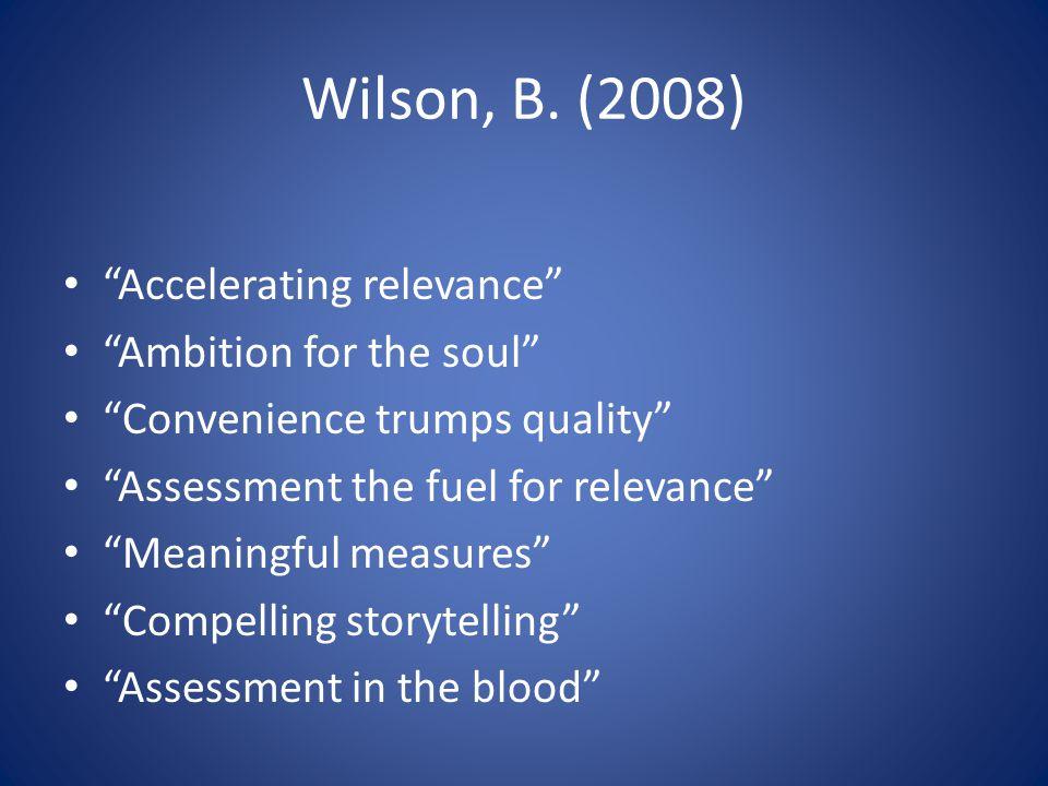 Wilson, B.