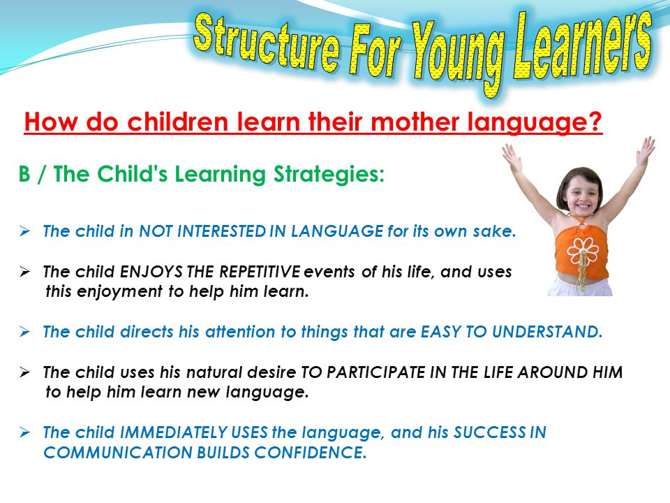 How does this apply to learning structure .