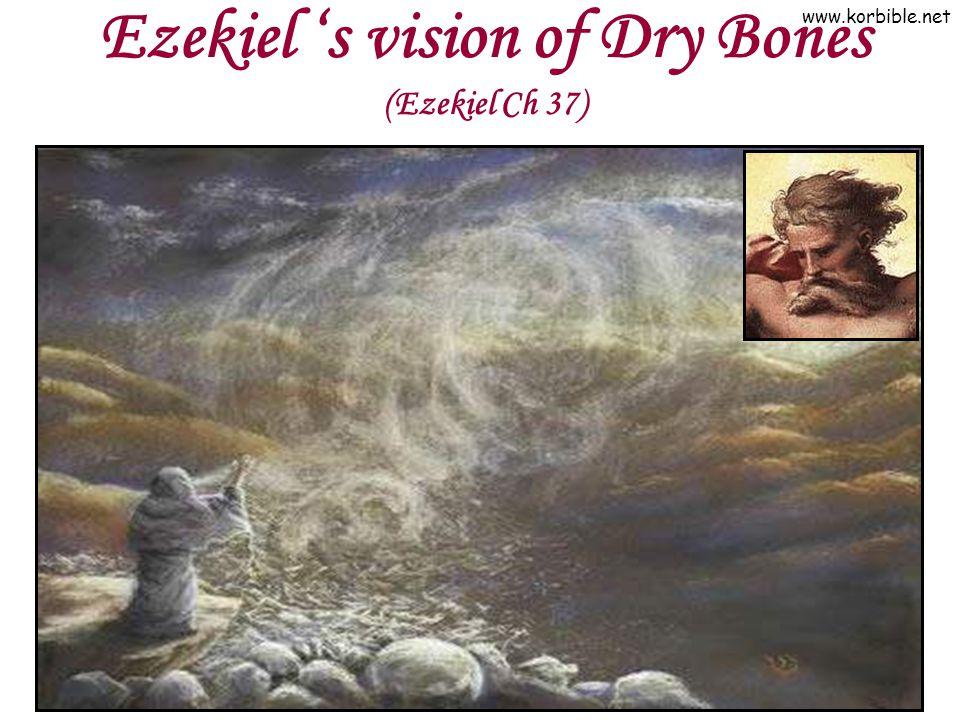 www.korbible.net Ezekiel s vision of Dry Bones (Ezekiel Ch 37)