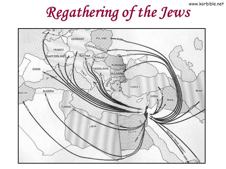 www.korbible.net Regathering of the Jews
