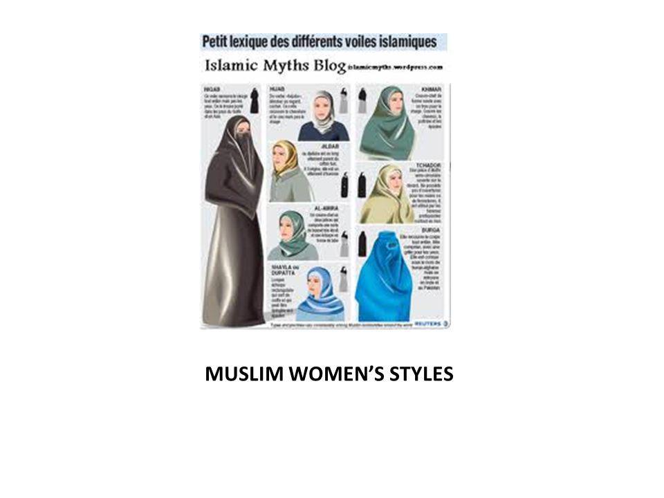MUSLIM WOMENS STYLES