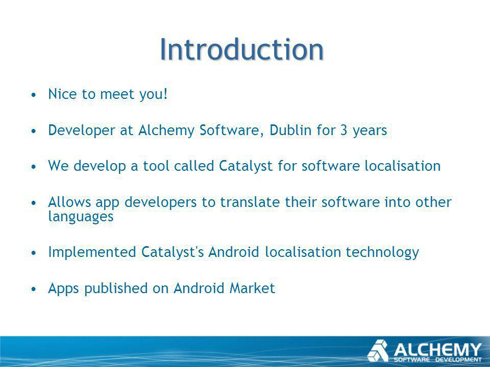 Any Mobile Pros here.Do we have any software developers.