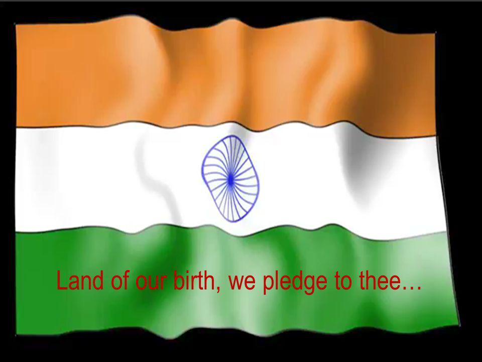 R.Sankar B.T.Asst. in English R.T.A.G.H.S.S. Vallathirakottai Pudukkottai Prepared By…. Unit – I Poem Land of our birth, we pledge to thee - Rudyard K