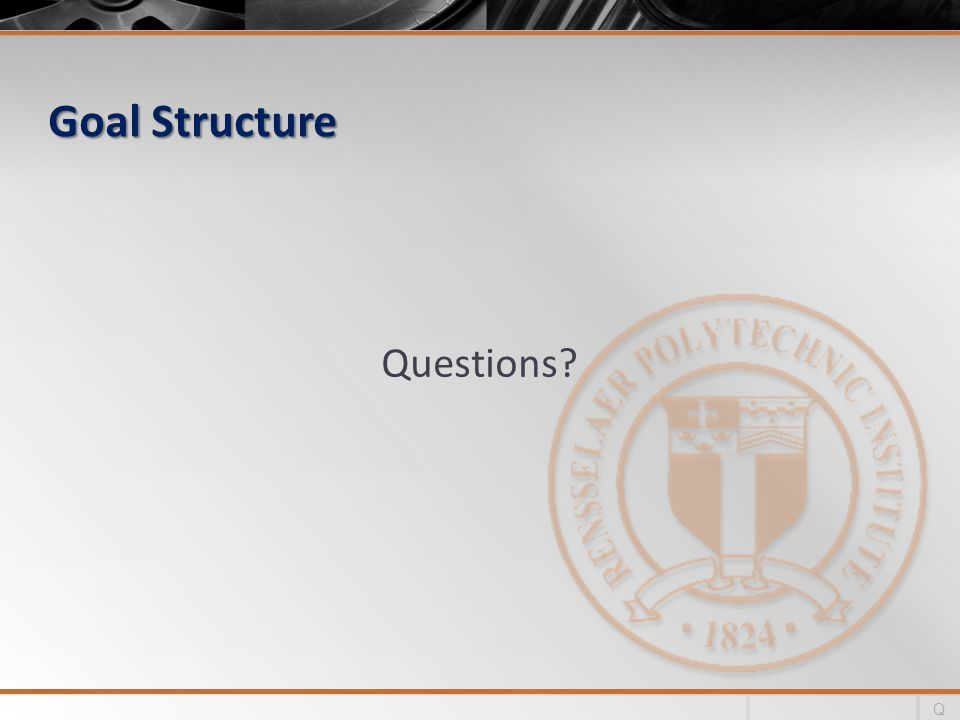 Goal Structure Questions Q