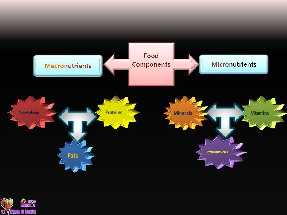 Macronutrients Micronutrients Food Components