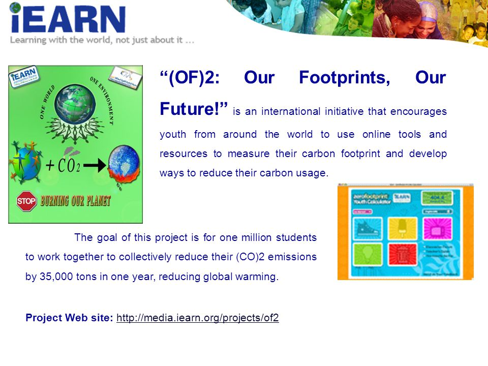 (OF)2: Our Footprints, Our Future.