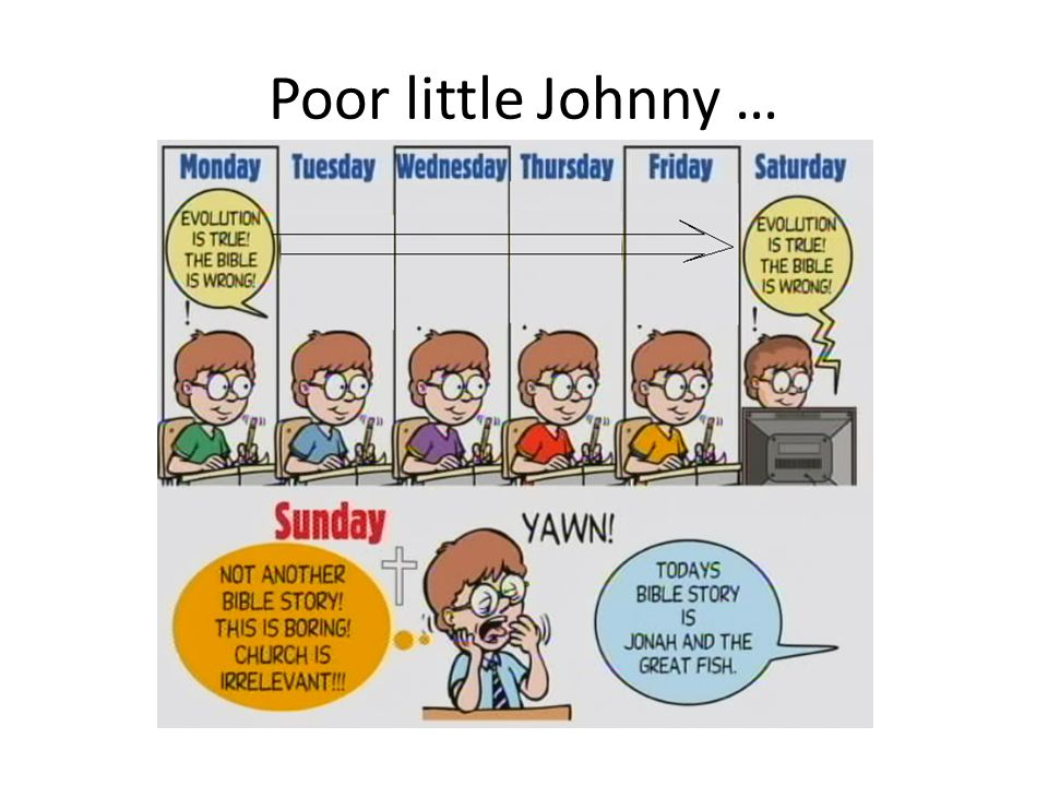 Little Johnny is eager to serve but doesnt know what he believes …