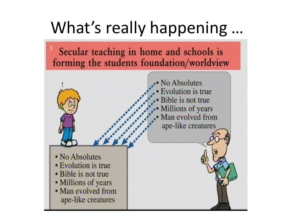 Whats really happening …