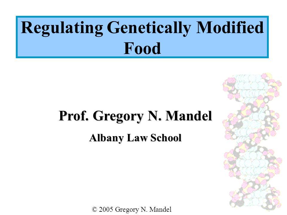 Prof. Gregory N. Mandel Albany Law School © 2005 Gregory N.