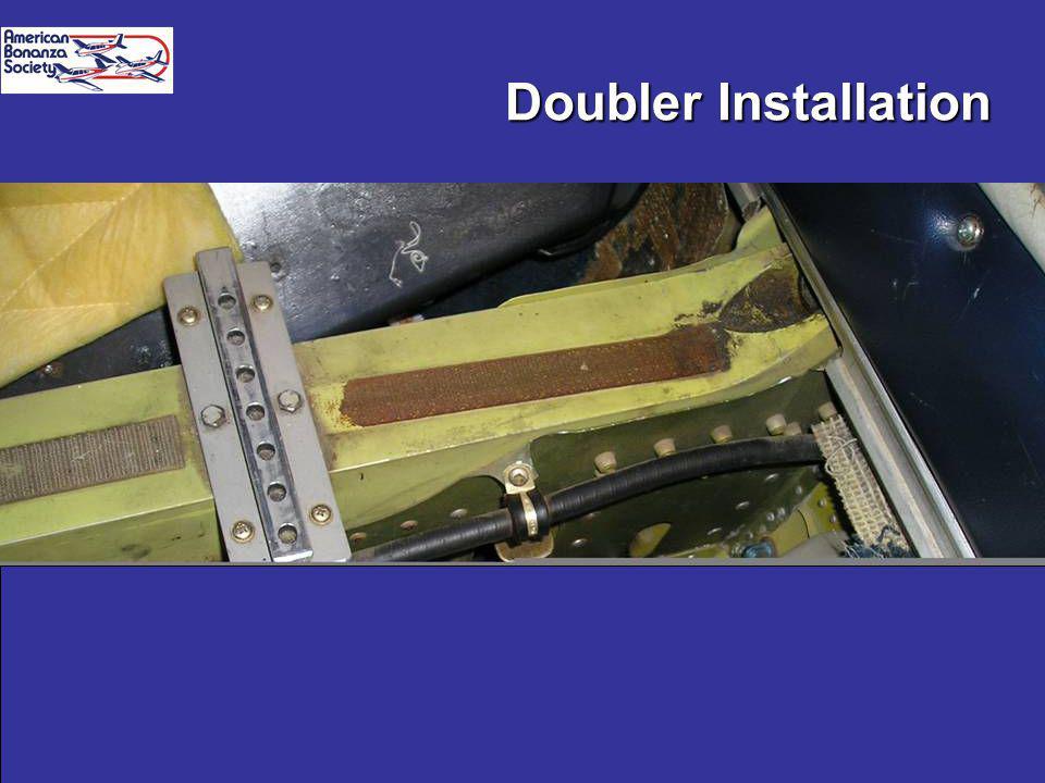 Spar Web brief 09/0511 Doubler Installation