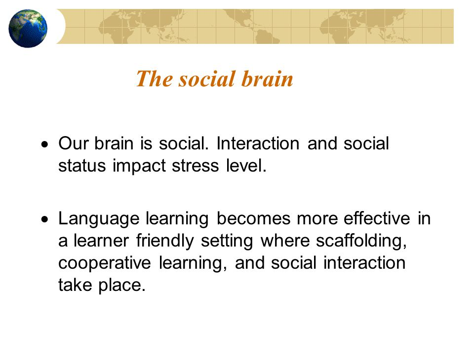 The conscious and subconscious brain Learning involves both conscious and subconscious processes.