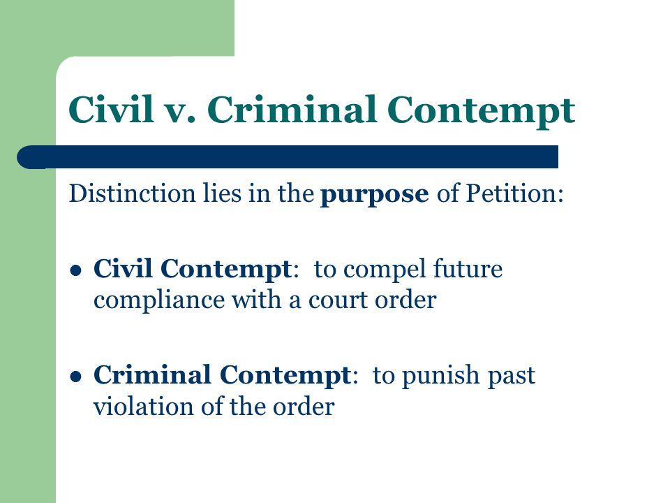 Civil v.