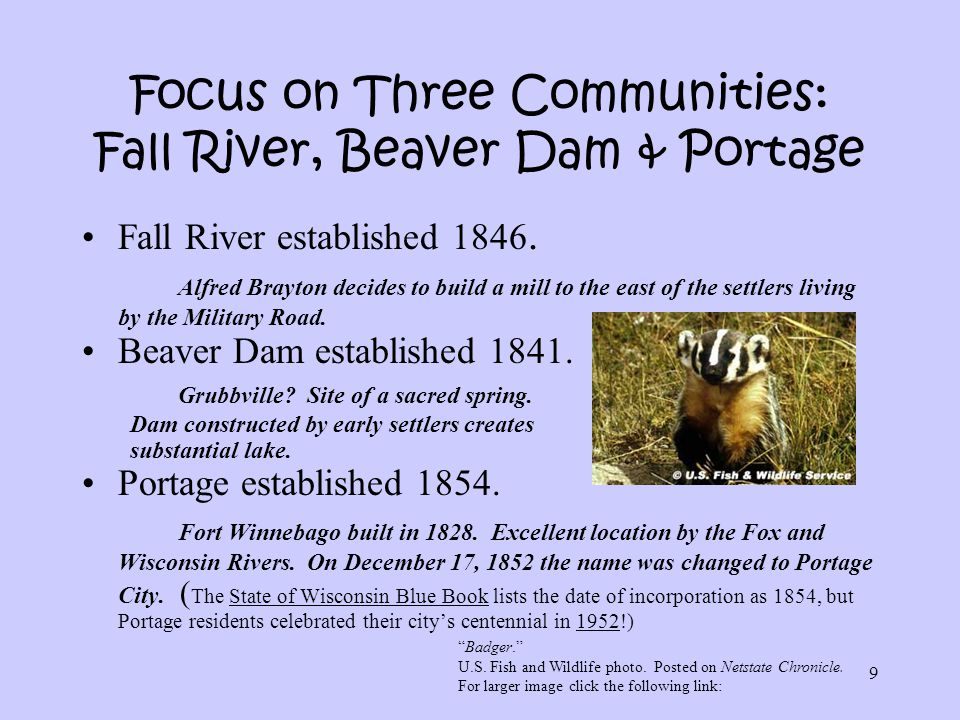 30 And the Immigration Story Continues… New Residents Are Welcome: Beaver Dam versus Portage.