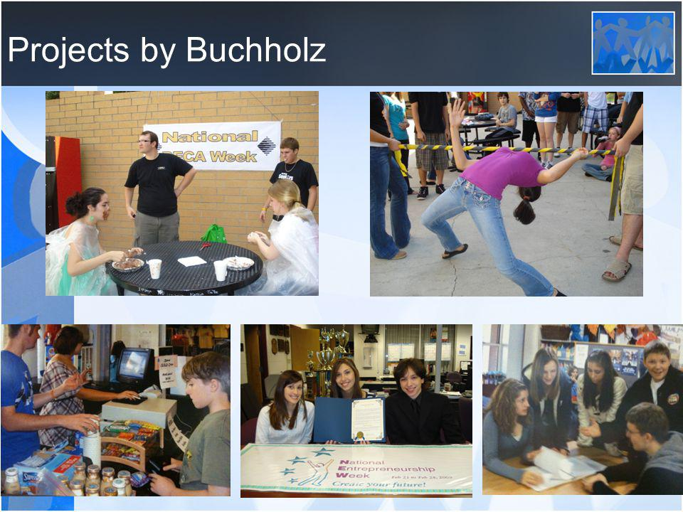 Projects by Buchholz