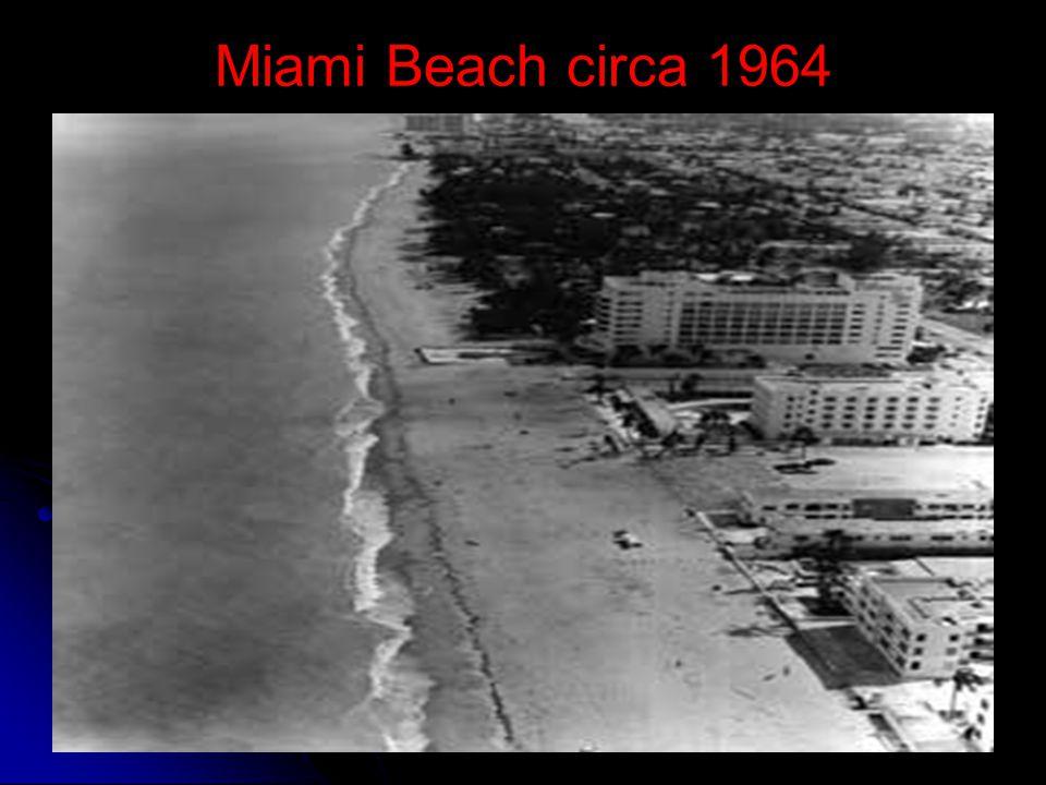 Miami Beach circa 1964