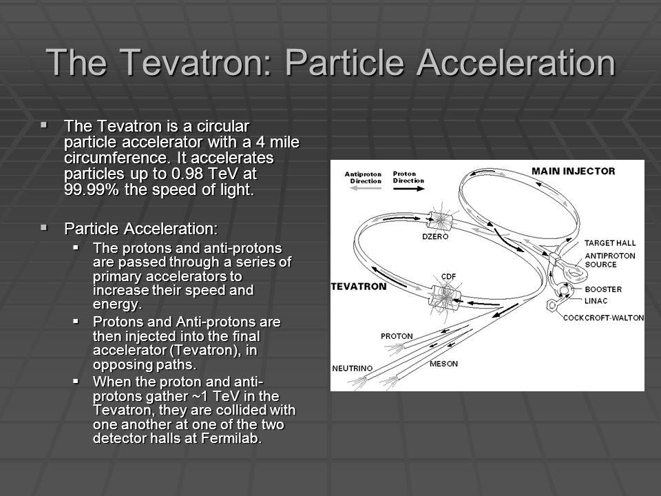 The Tevatron: Electromagnets Important Questions: Important Questions: How are the particles contained in the accelerator.