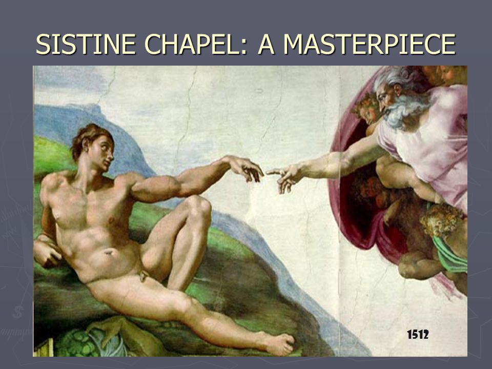SISTINE CHAPEL: A MASTERPIECE 1512