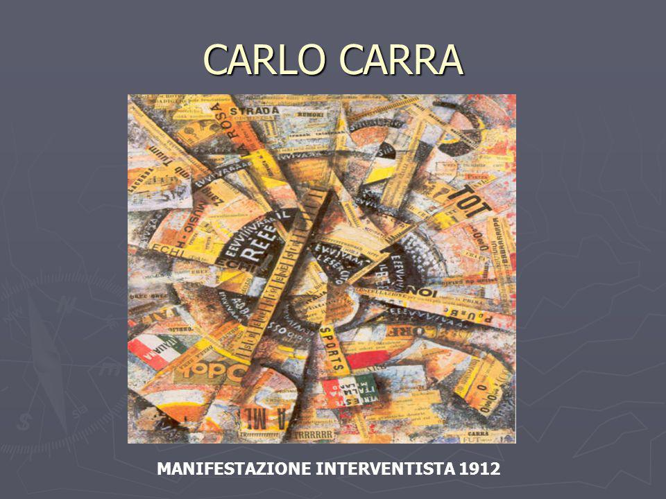 CARLO CARRA MANIFESTAZIONE INTERVENTISTA 1912