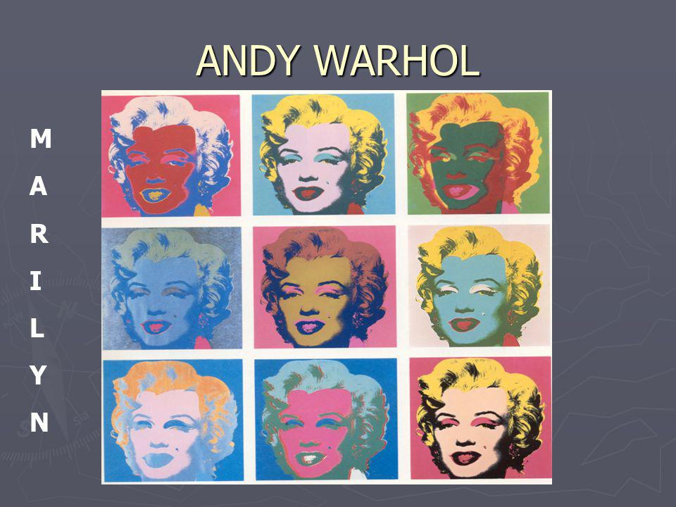 ANDY WARHOL MARILYNMARILYN