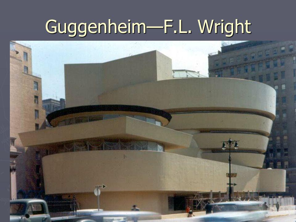 GuggenheimF.L. Wright