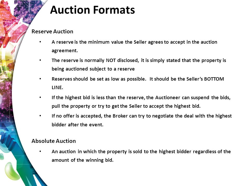 Is my Listing a Good Auction Candidate.
