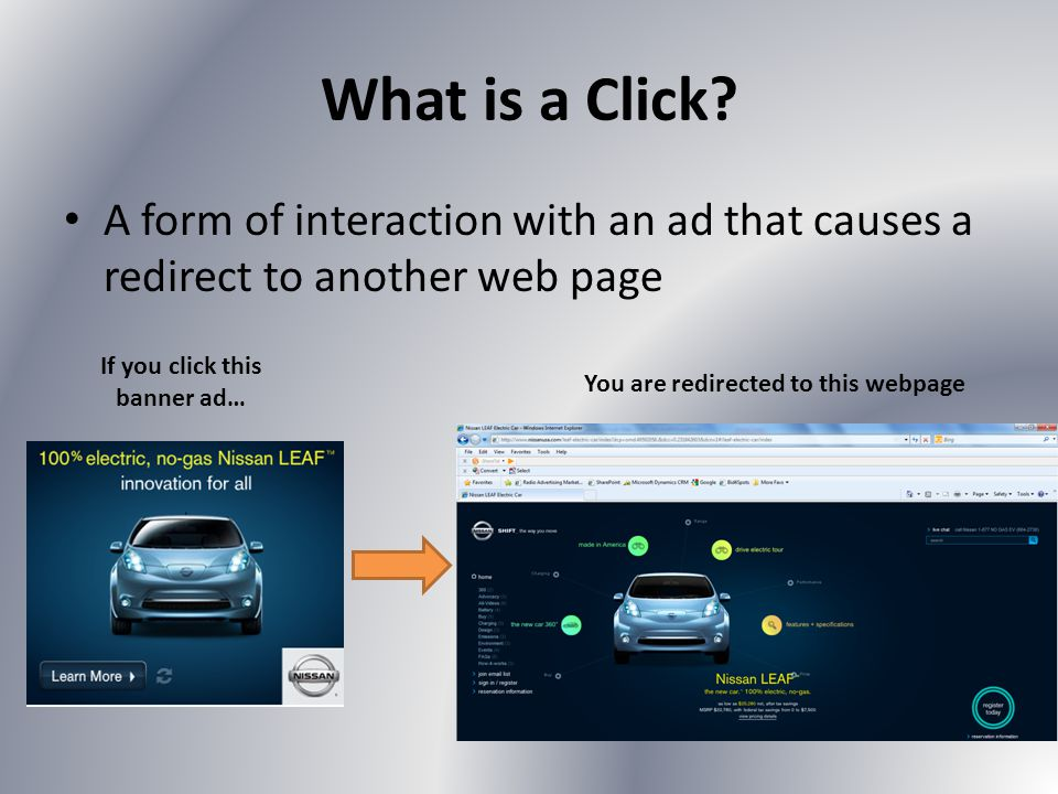 What is a Click.