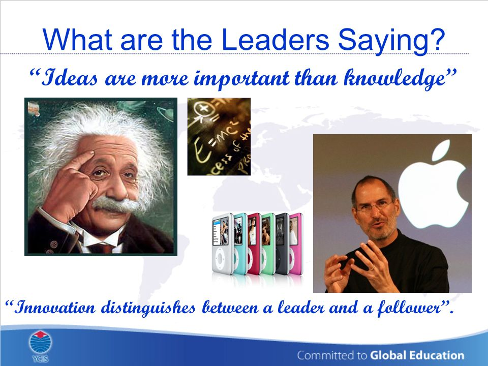 What are the Leaders Saying.