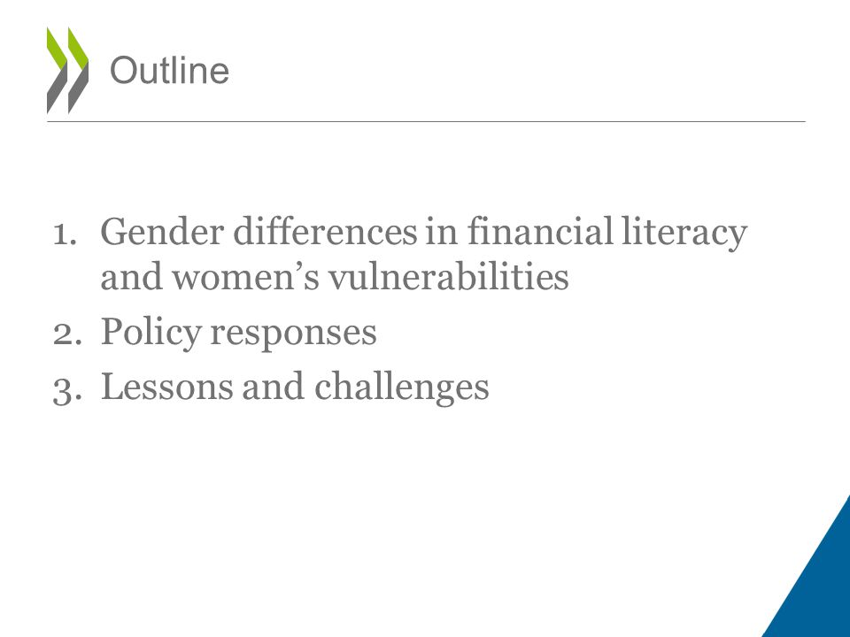 1.GENDER DIFFERENCES IN FINANCIAL LITERACY AND WOMENS FINANCIAL VULNERABILITIES